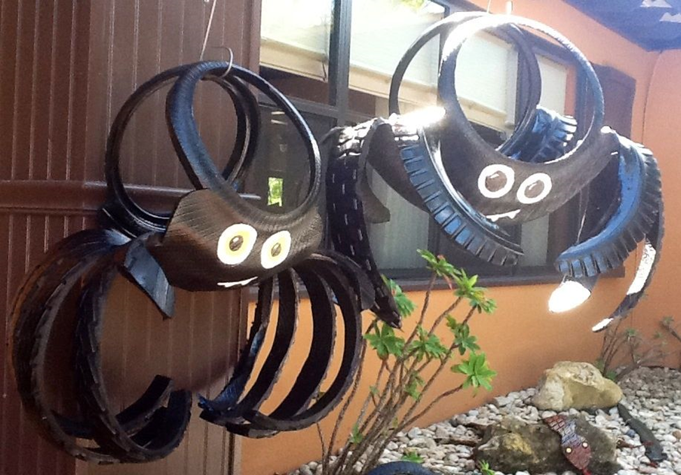 Town Fair Tire Diy Halloween Tire Decorations
