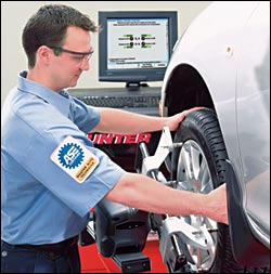 Free Front Wheel Alignment