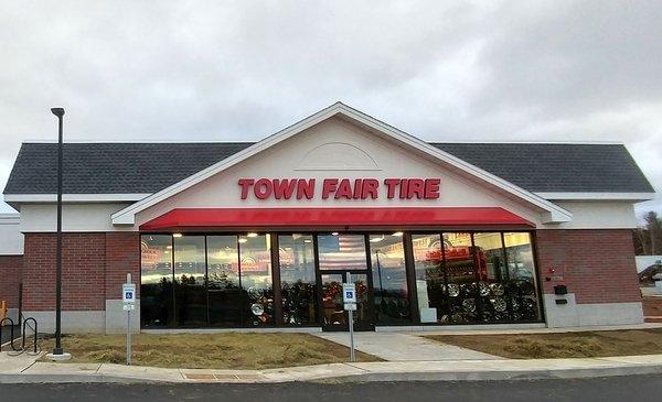 Tires In Williston Vt Town Fair Tire Store Located In