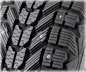 Studded Tire Picture